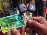 Duplikat kunci mobil mitsubishi pajero sport