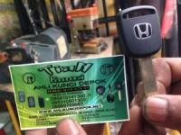 Duplikat kunci atau hilang kunci mobil honda civic