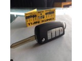 duplikat kunci flip atau flip key nissan grand livina